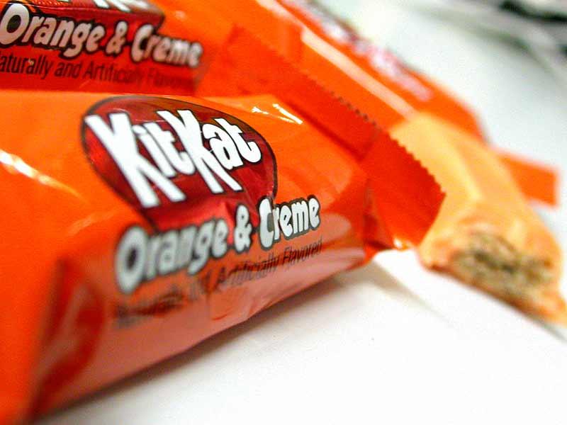 orange & creme kit kat