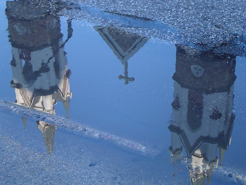 Church In A Puddle