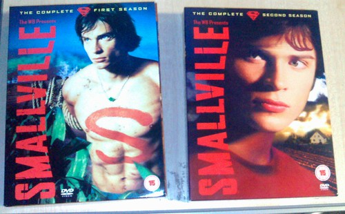 Smallville Seasons 1 and 2 DVD