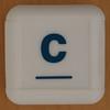 Boggle Junior letter c