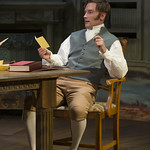 Greg Matthew Anderson (Septimus Hodge) in ARCADIA at Writers Theatre. Photo by Michael Brosilow.