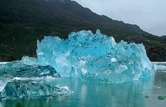 Iceberg calved from Glacier San Rafael photo by blamstur