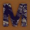 Cooper Hewitt magnetic letter M