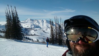 Peter and I at powder mountain