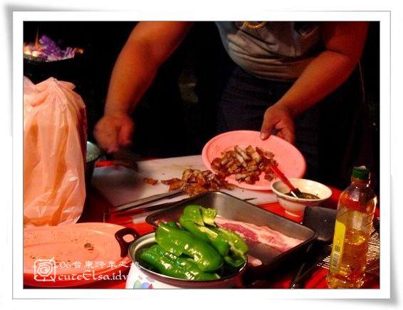台東巴浪家-豬肉切小塊