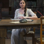 Elizabeth Stenholt (Thomasina Coverly) in ARCADIA at Writers Theatre. Photo by Michael Brosilow.