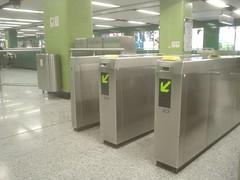 01.香港地鐵的收票口