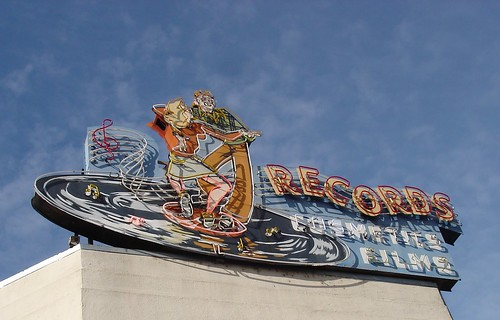 sign above Tower Theater (by ~summer~)