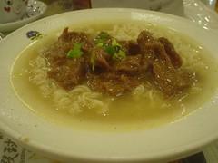 63.翠華茶餐廳:牛肉公仔麵