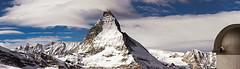 Matterhorn viewed from the Gornergrat, Zermatt, Switzerland