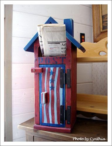 美式鄉村風郵筒