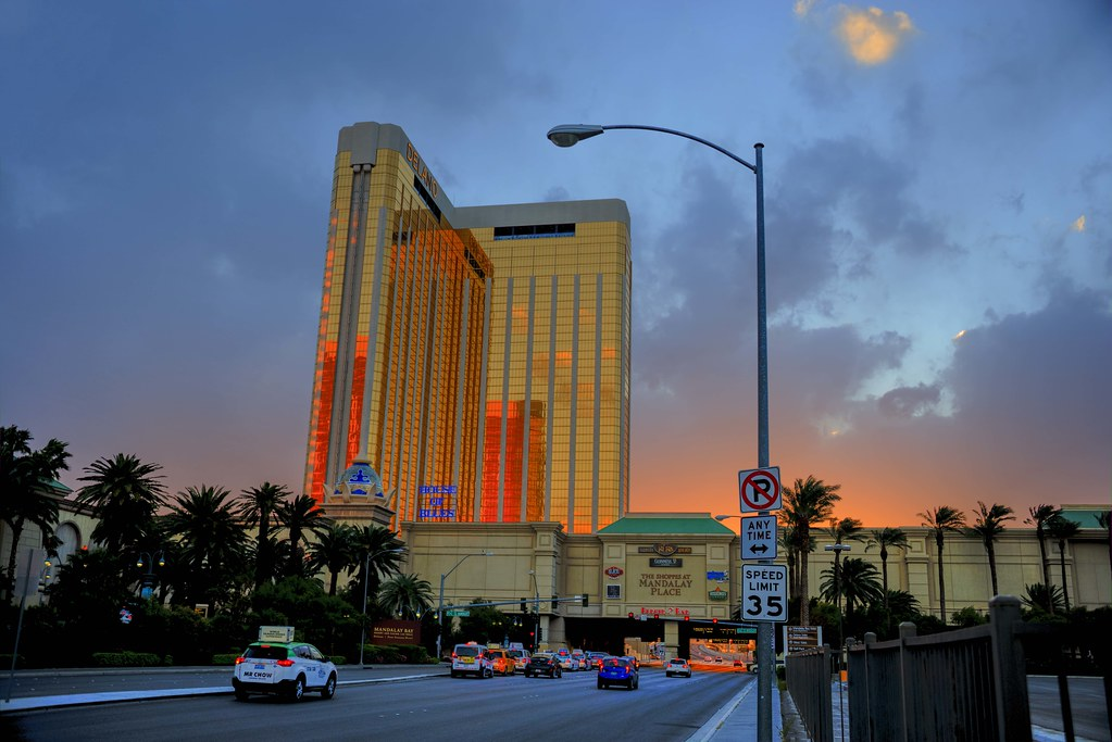 The Delano Hotel in Las Vegas.