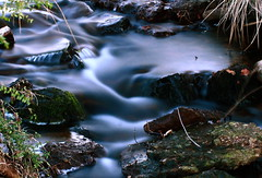 1st attempts at long exposure of running water photo by Amber... Bamberboo