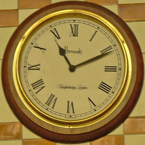 Harrod's clock