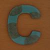 Cooper Hewitt magnetic letter C