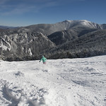 Blue Skies, no wind, leftover powder and snowmaking continues 2/27/16