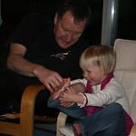 Grandad tickles my toes<br/>17 Mar 2007