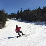 Spring skiing top-to-bottom this afternoon 3/27/16