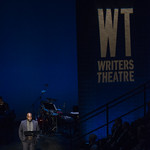 Ike Holter speaks at Writers Theatre's Grand Opening Gala on February 8, 2016. Photo by Michael Brosilow.