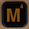 WORDS with FRIENDS RACE letter M