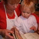 Nanny & I pick a recipie<br/>17 Feb 2007