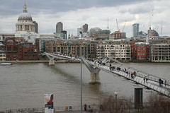 The view from the Tate Modern