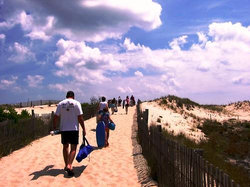 A Sunny Sunday at the Beach