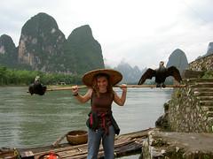 Yangshuo de pesca