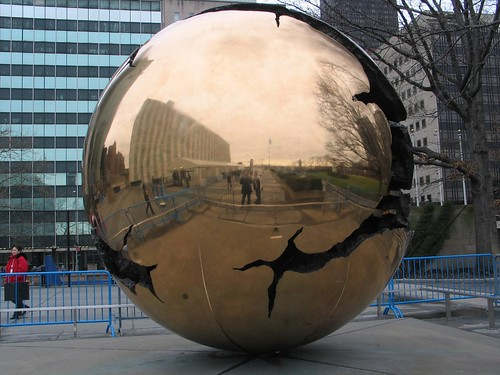 Globe Mirror