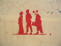 Olsen Banden Stencil