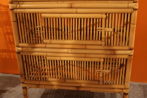 顏水龍先生設計的竹櫃