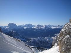 From Cristallo, in Cortina d'Ampezzo