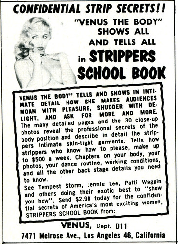 Strippers School Book