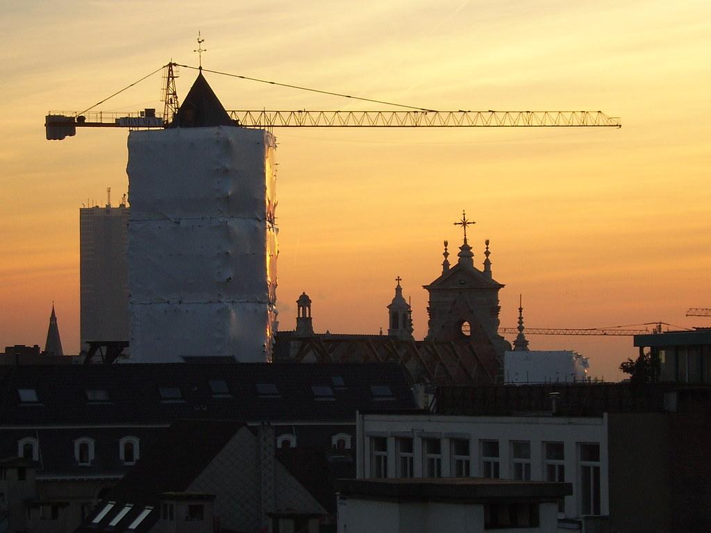 Begijnhofkerk ingepakt