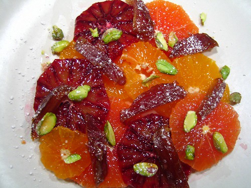 Orange and Date Salad with Pistachios