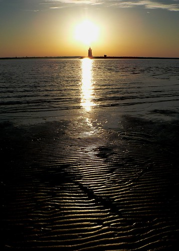 Sunset over Lighthouse