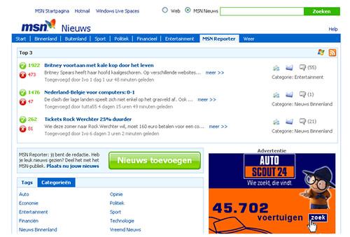MSN Nieuws