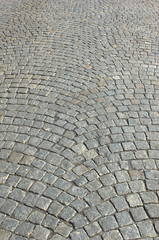 Cobblestones, Van Dyke Street, Red Hook, Brooklyn photo by Flatbush Gardener