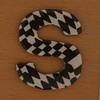 Cooper Hewitt magnetic letter S