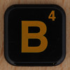 WORDS with FRIENDS RACE letter B