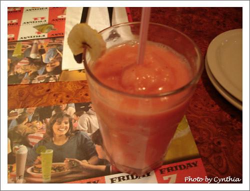 凍飲金質獎章(草莓 + 香蕉)