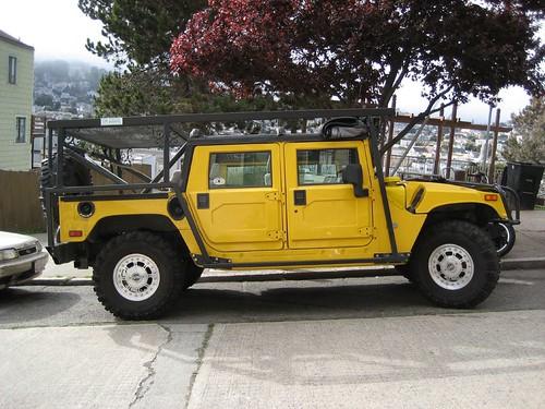 A bio-diesel H1 Hummer