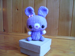 Custom order amigurumi Bunny photo by mizz_kitty