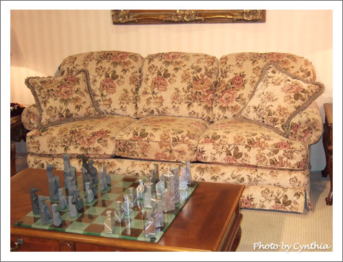 皇廷的復古沙發