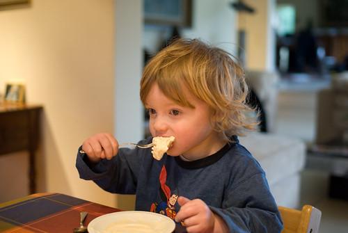 Jan eet ijs