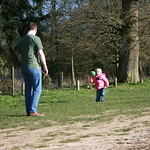 Playing football with Dad<br/>17 Mar 2007