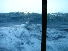 25 Cape Horn storm waves from cabin 1932 photo by arzzed
