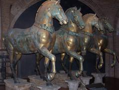 Cavalls de bronze, Basilica di San Marco, Venezia photo by Sebastià Giralt