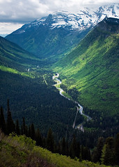 Valley in Glacier National Park photo by Gerad Coles