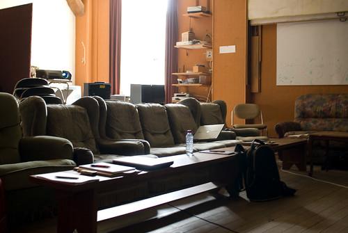 De zitplaatsen